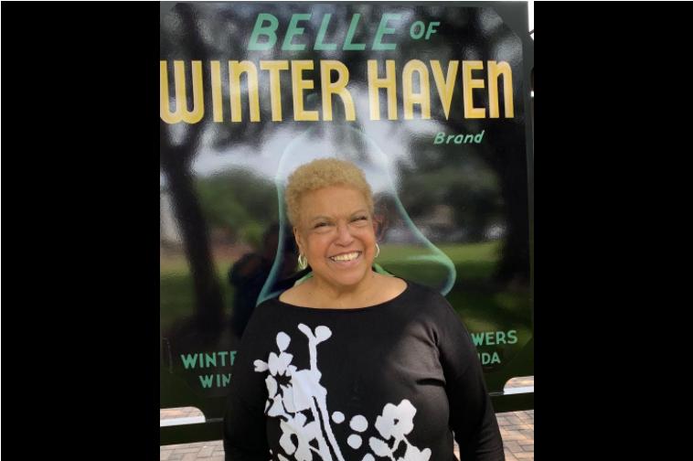 Media Room_Seretha Tinsley Belle of Winter Haven